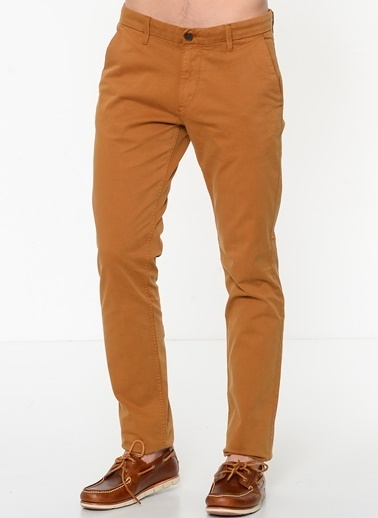 Timberland Sargent Lake Stretch Twill Slim Chino Kahve